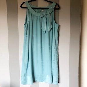 H&M Light Blue Shift Dress